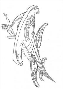 kleurplaat Atlantis (9)