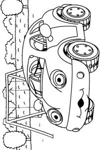 kleurplaat Auto (1)