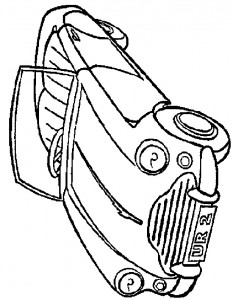 coloring page Auto (15)