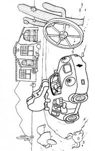 målarbok Auto (2)