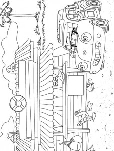 coloring page Auto (3)