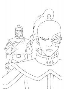 målarbok Avatar
