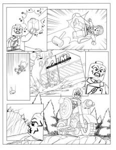 målarbok Avengers p3