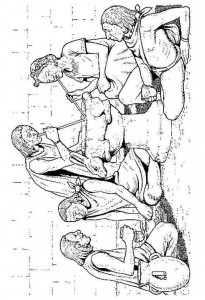 målarbok Azteker (1)