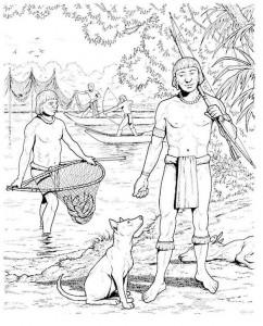 coloring page Aztecs (10)
