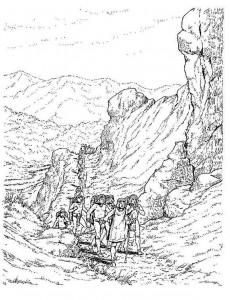 coloring page Aztecs (5)