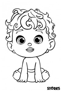 coloring page baby (8)