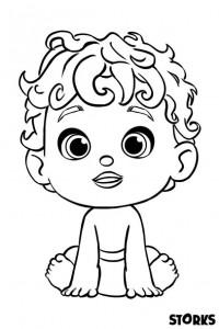 kleurplaat baby (8)