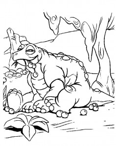 coloring page Baby dinosaurer (10)