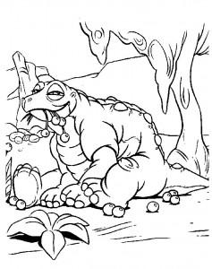 Dibujo para colorear dinosaurios bebé (10)