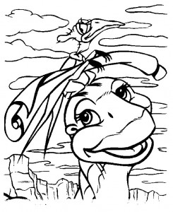 coloring page Baby dinosaurer (7)