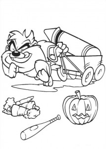 coloring page Baby Tunes (7)