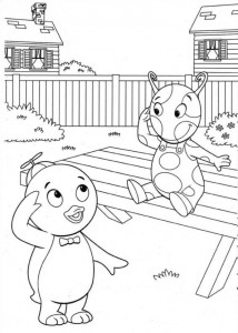 coloring page Backyardigans (1)