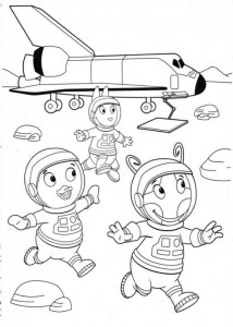 coloring page Backyardigans (10)