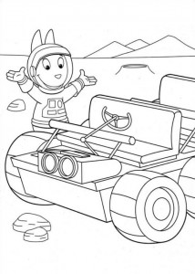 coloring page Backyardigans (11)
