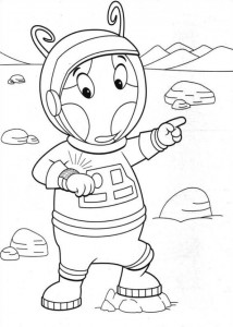 coloring page Backyardigans (13)