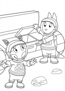 coloring page Backyardigans (14)