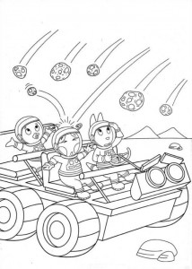 coloring page Backyardigans (16)