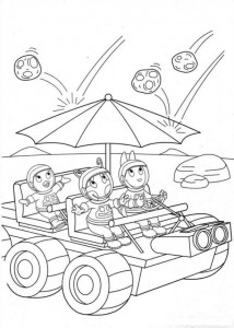 coloring page Backyardigans (17)