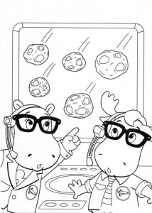 coloring page Backyardigans (18)