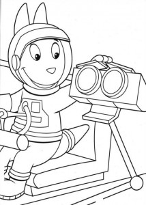 coloring page Backyardigans (19)
