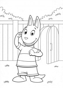 coloring page Backyardigans (2)