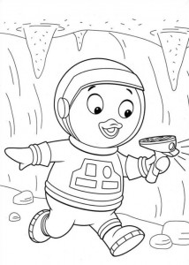 coloring page Backyardigans (21)
