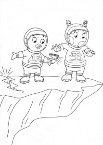coloring page Backyardigans (22)