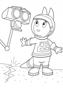 coloring page Backyardigans (23)