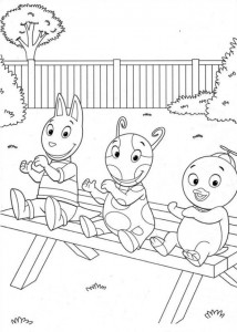 coloring page Backyardigans (3)