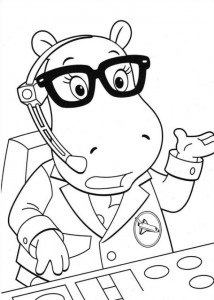 coloring page Backyardigans (5)