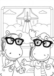 coloring page Backyardigans (6)