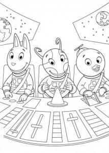 coloring page Backyardigans (7)