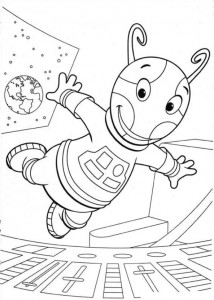 coloring page Backyardigans (8)