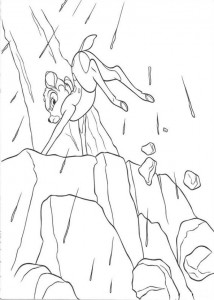coloring page Bambi (2)