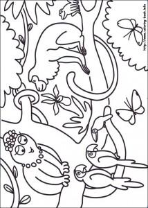 kleurplaat Barbapapa (4)