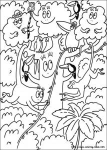 boyama sayfası Barbapapa (7)