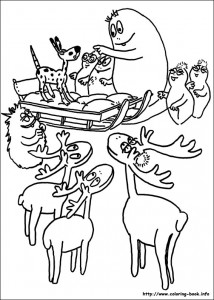 boyama sayfası Barbapapa (8)