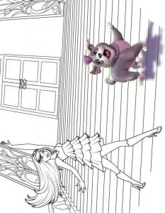 målarbok Barbi och popstjärnan (1)