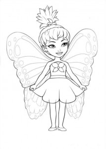 Coloriage Barbi Mariposa (2)