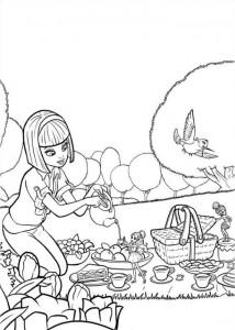 målarbok Barbie Thumbelina (12)