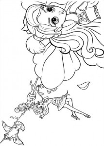 coloring page Barbie Thumbelina (14)