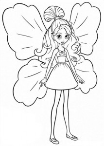 coloring page Barbie Thumbelina (18)