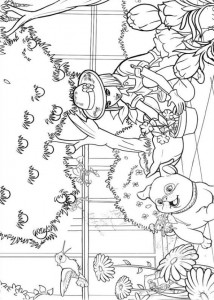 coloring page Barbie Thumbelina (5)
