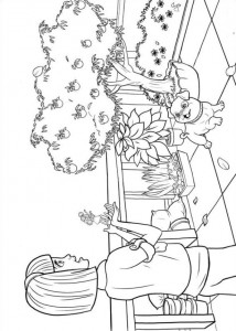 coloring page Barbie Thumbelina (7)