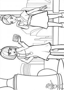 coloring page Barbie Thumbelina (8)