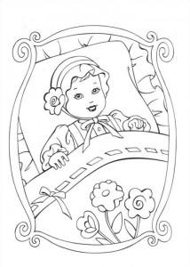 målarbok Barbie och tiggaren (1)