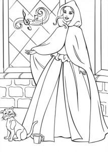 målarbok Barbie och tiggaren (11)