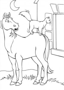 coloring page Barbie and the beggar (16)
