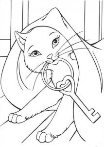 coloring page Barbie and the beggar (17)